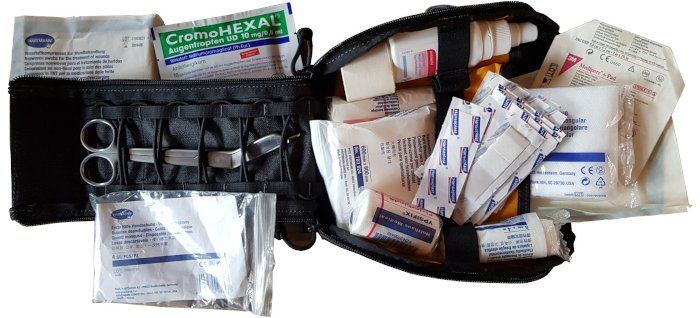 Vanquest Organizer First Aid Kit open