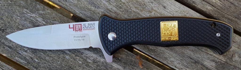 Al Mar Knives Sere, 40th Anniversary Edition