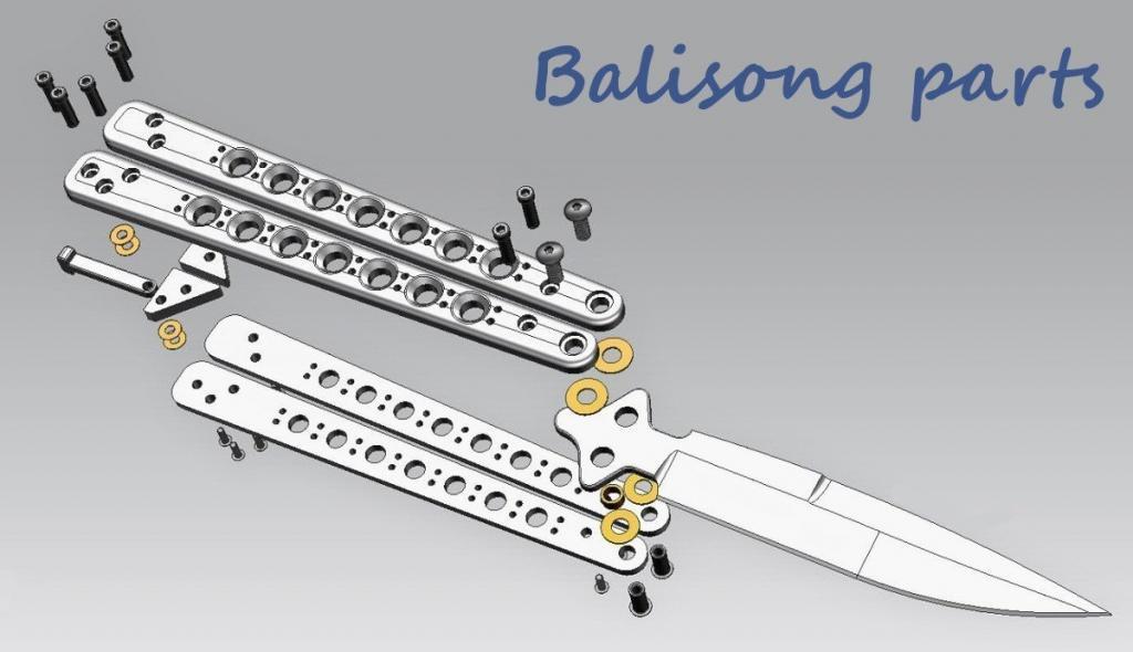 Balisong Kompendium: Grundaufbau Balisong
