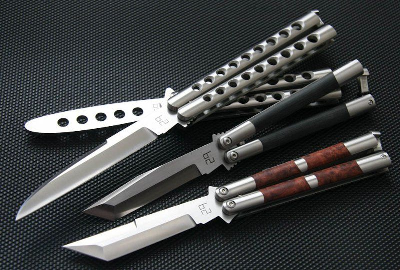 29er Balisong Knives
