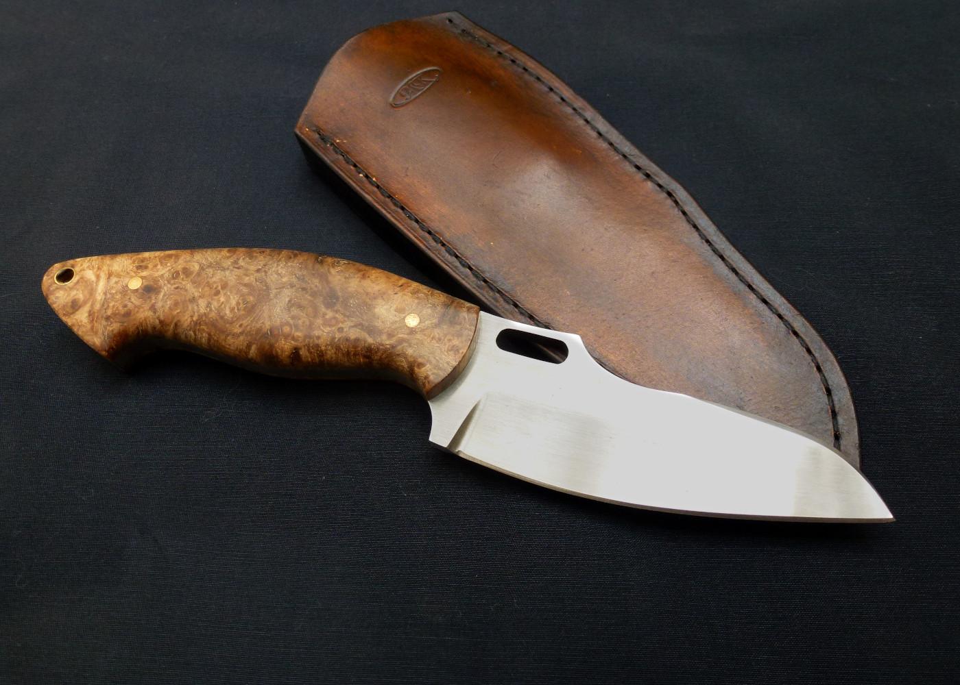 Edelholz als Material für Messergriffe