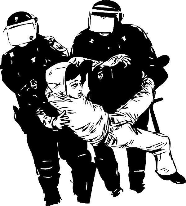 Polizeikontrollen in Waffenverbotszonen