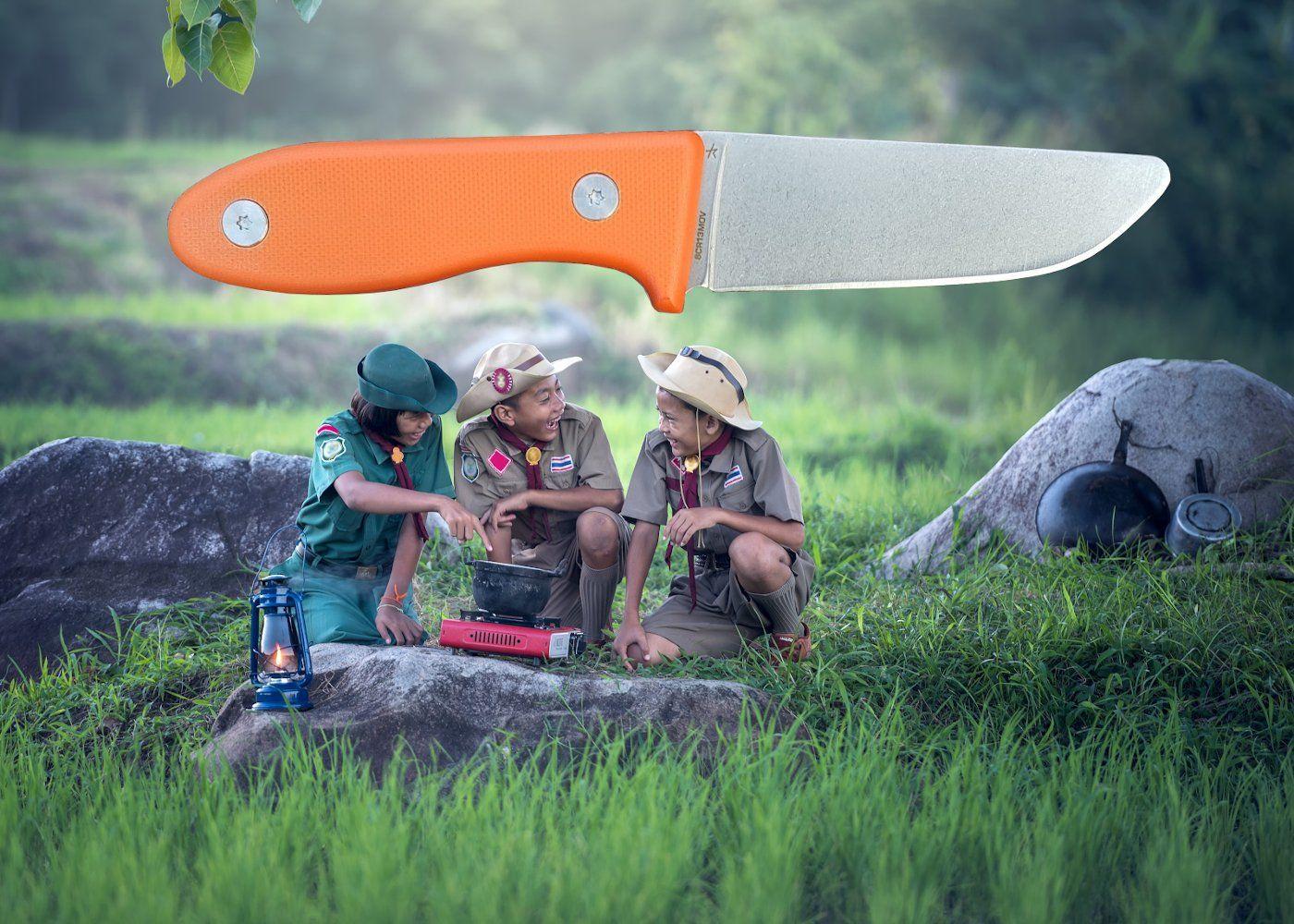 Schnitzel - Messer für Kinder