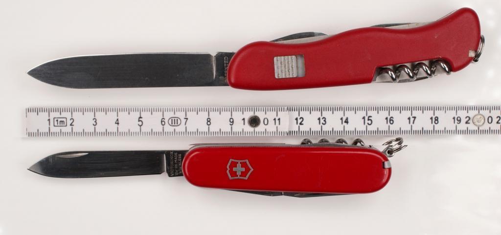 Neues Waffengesetz - auch diese Messer sollen verboten werden
