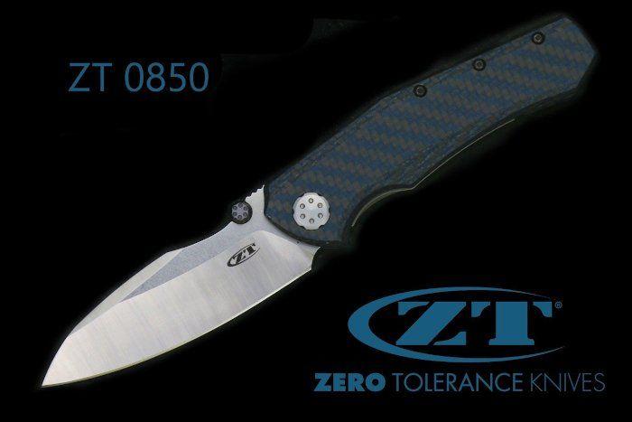 Das Zero Tolerance ZT 0850 ist eine markante Erscheinung