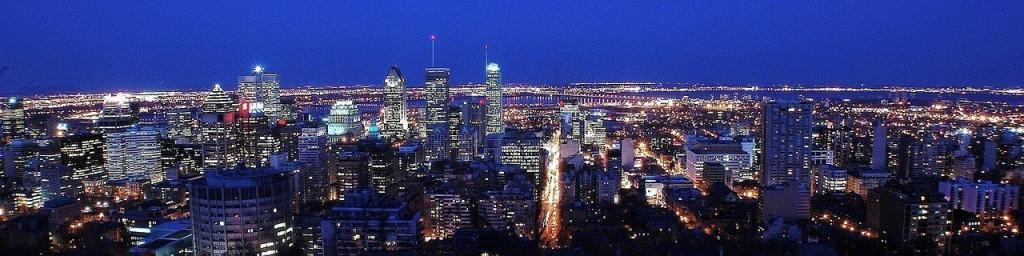 Das Waffengesetz in Kanada wird in den Metropolen konsequent angewendet (Skyline von Montreal