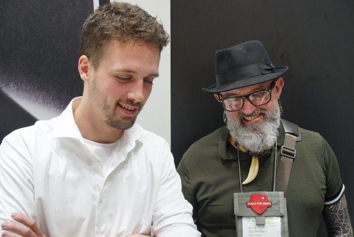 Ondřej Němec und Gudy van Poppel
