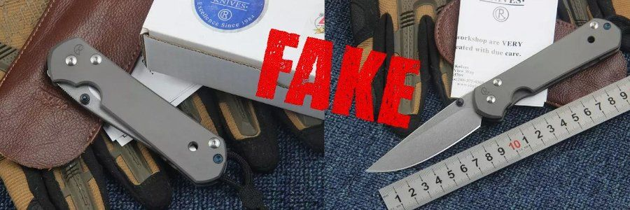 Fake Knives - Chris Reeve Sebenza