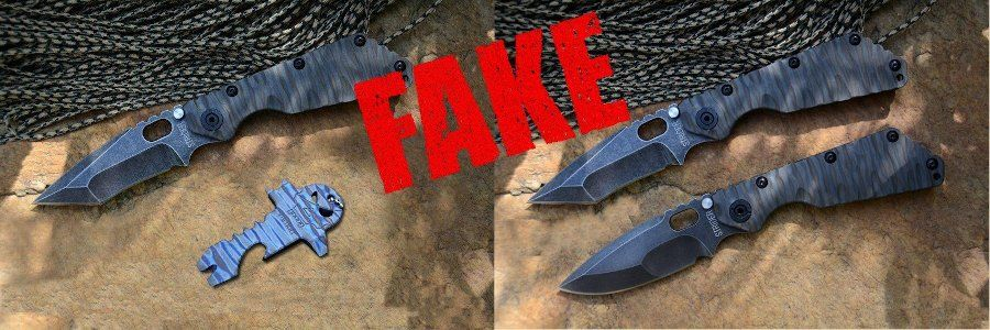 Fake Knives - Gefälschtes Strider SnG
