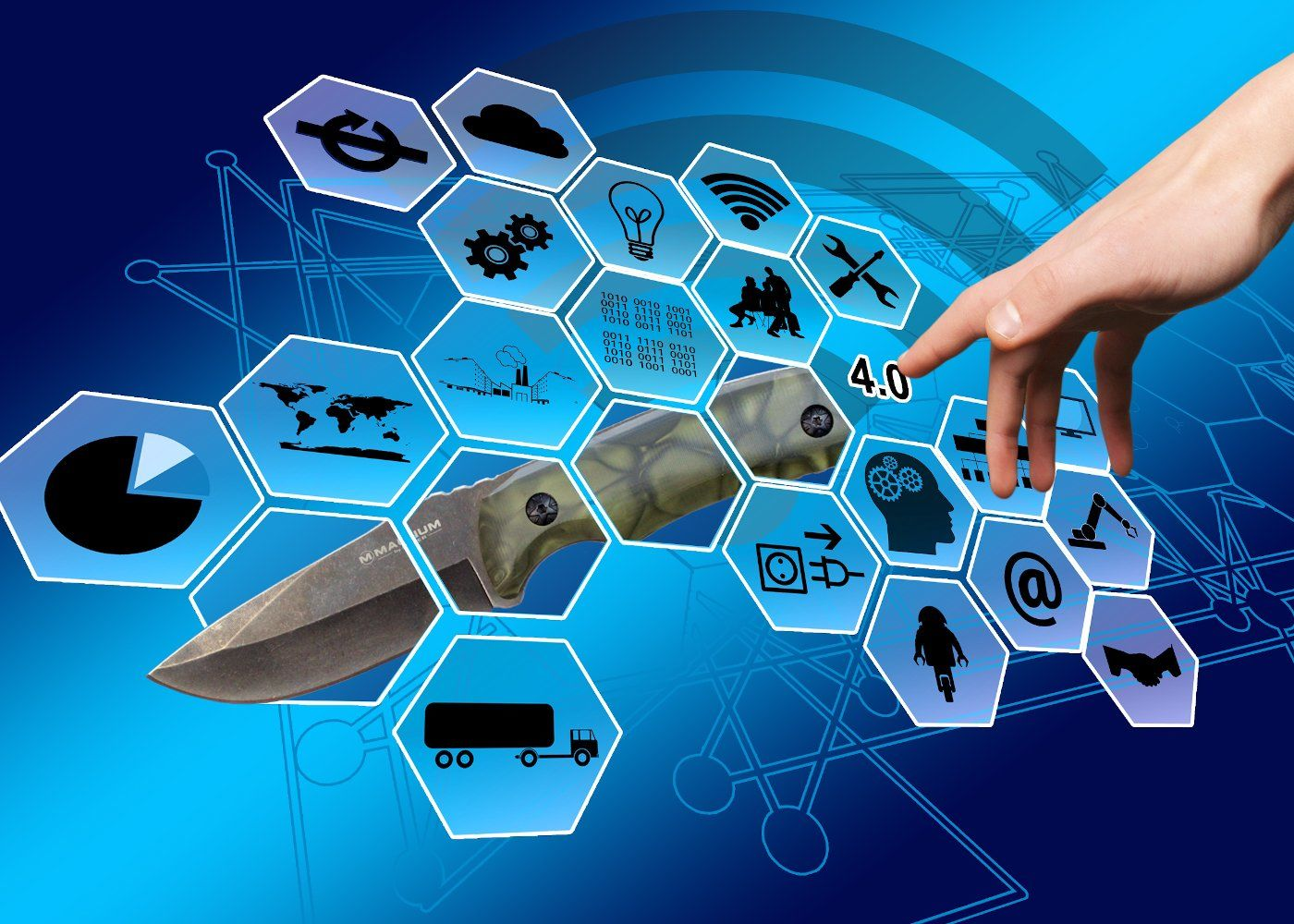 Hightech Messergriff für das 21. Jahrhundert
