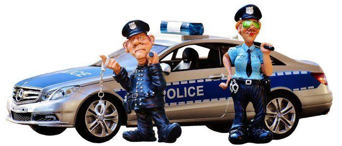 Import von Messern - Polizei