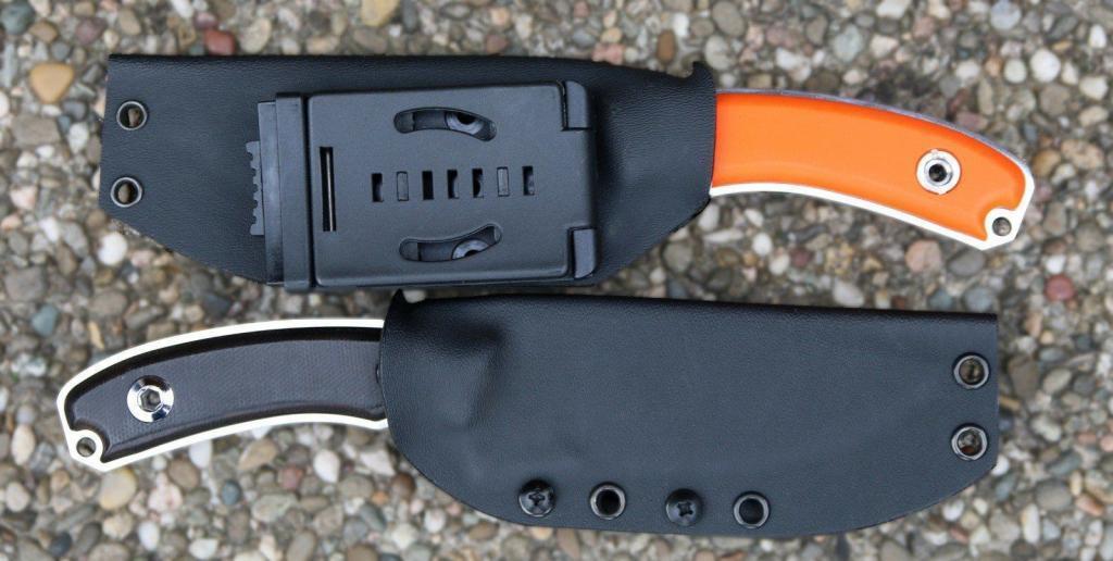Lucidus Outdoor-Messer mit Kydex-Scheide