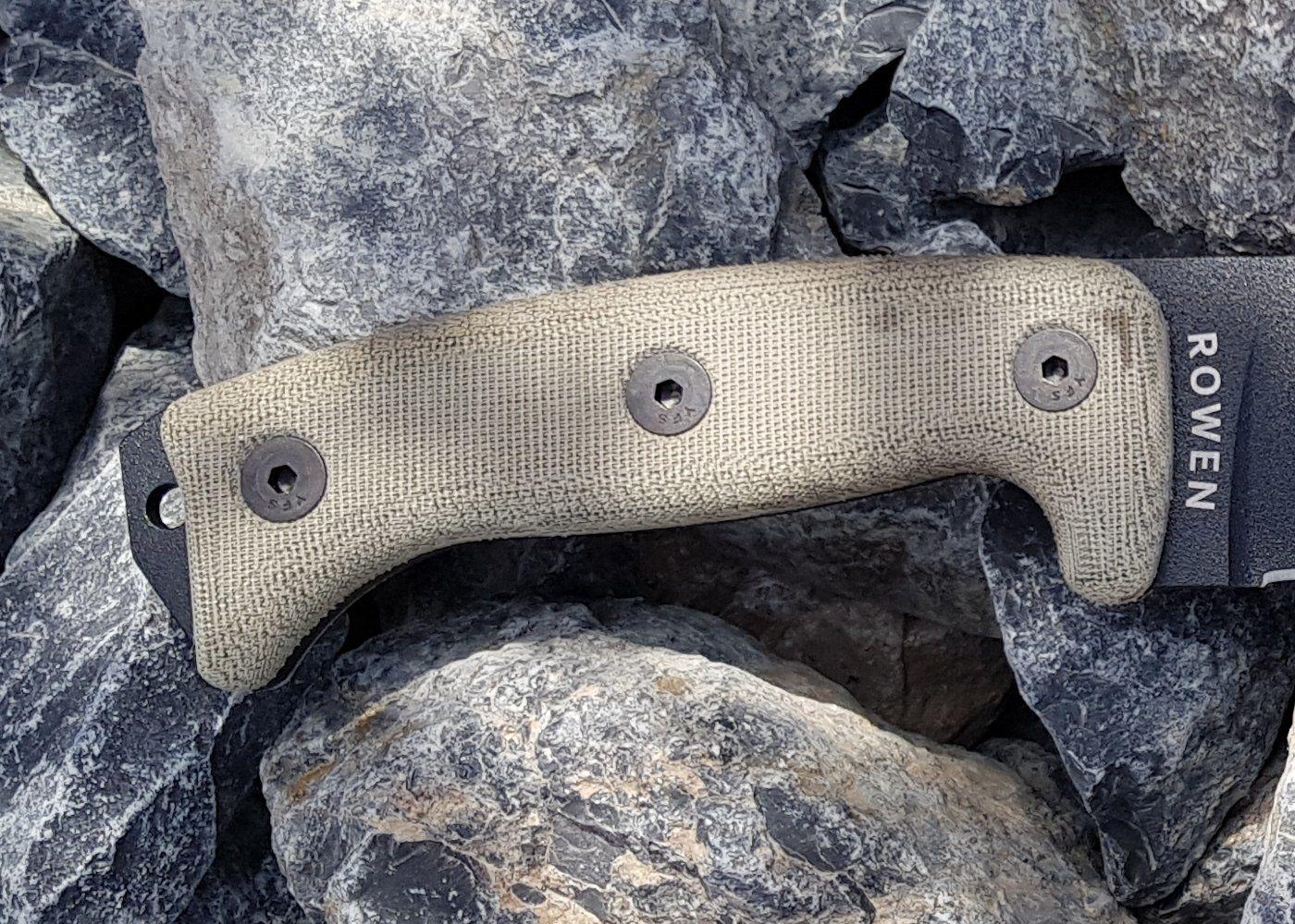 Micarta - Material für Messergriffe