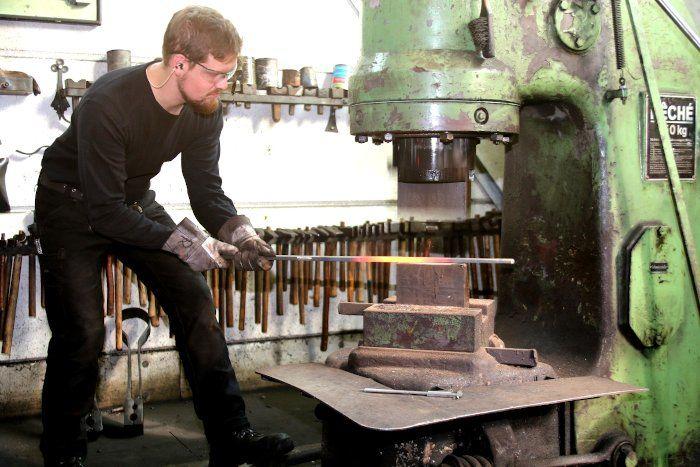 Schmiede Balbach Lufthammer