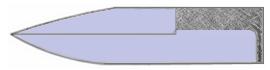 Messerklingen - Formen, Konzepte, Einsatzzwecke: Wharnclifffe oder Weehawk Klinge