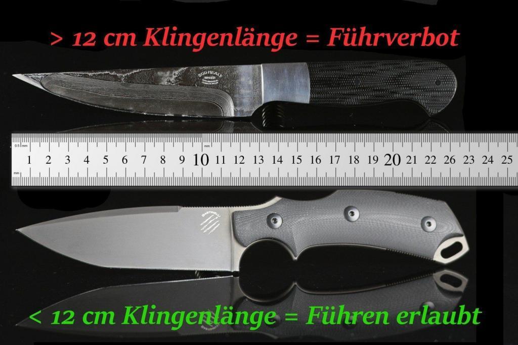 Deutsches Waffenrecht einfach erklärt: Fixed Blade