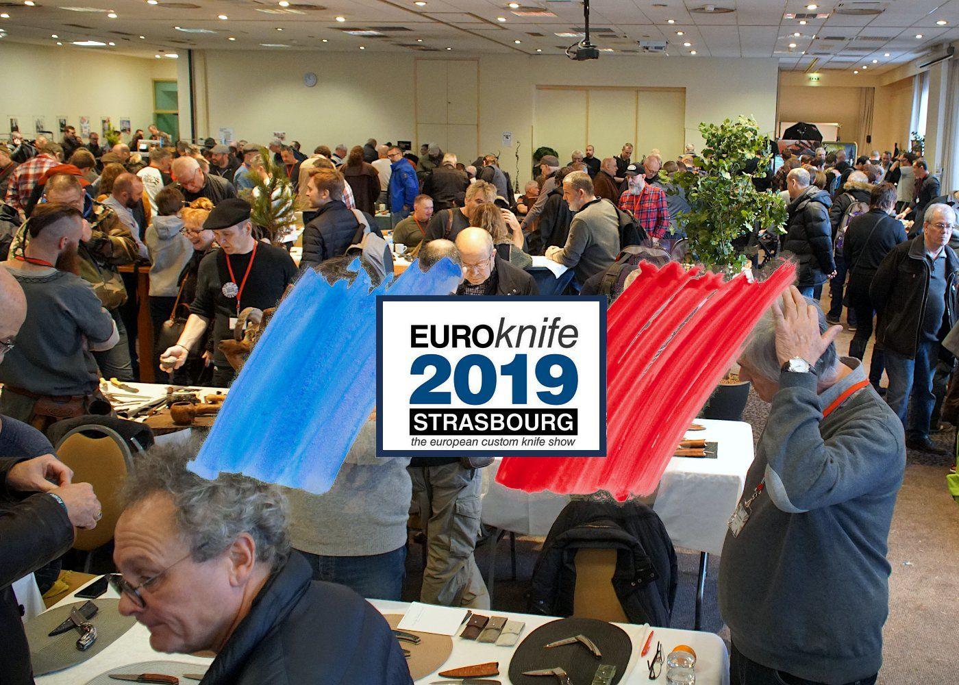 EuroKnife 2019 - Messerausstellung in Straßburg 1