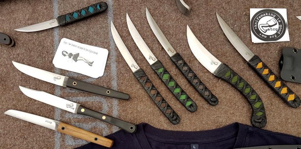 Messer aus der Werkstatt von Oliver Merz
