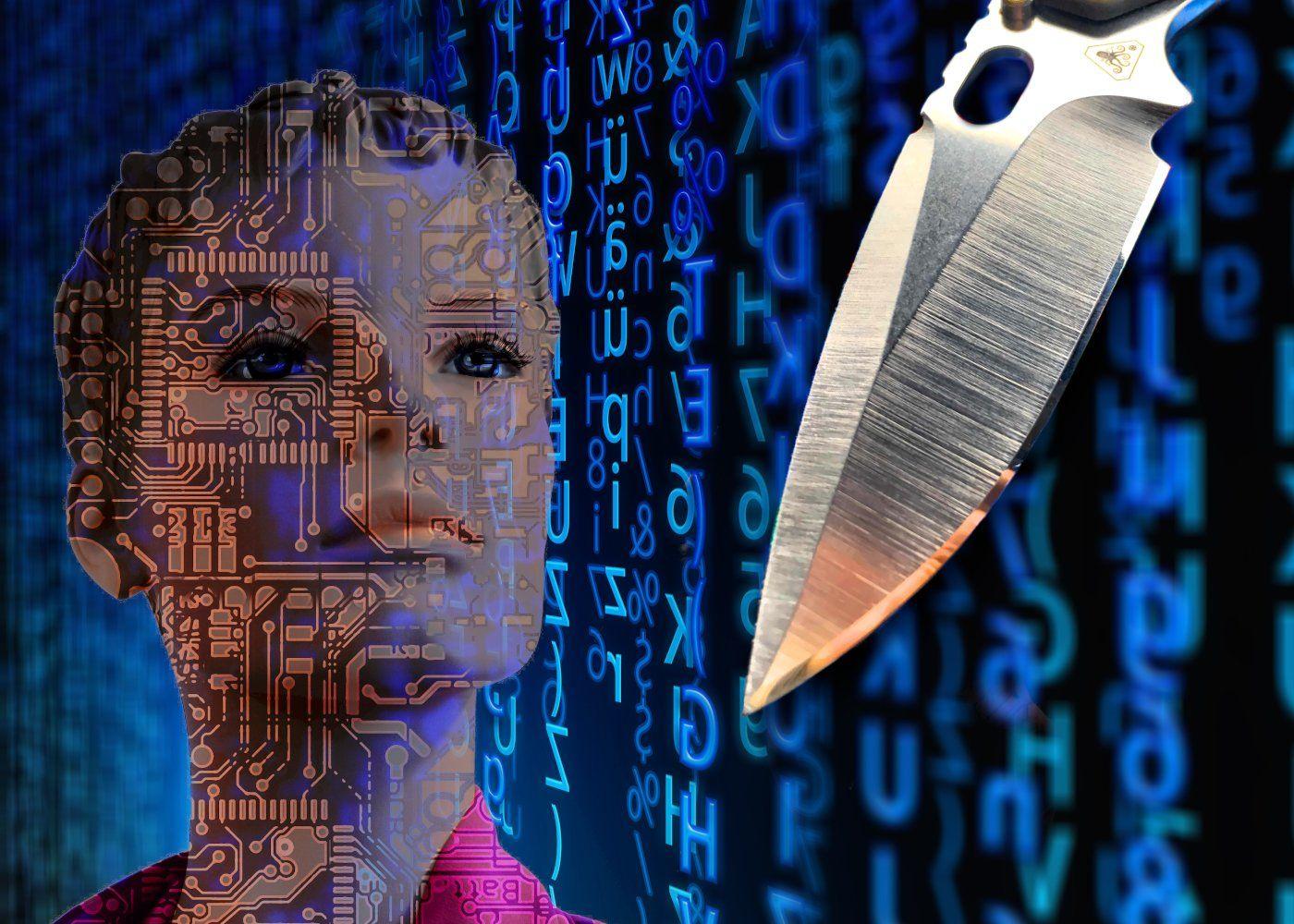 Moderner Messerstahl