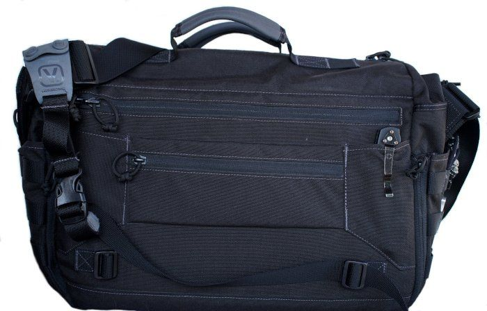 Vanquest Envoy 3.0 Messenger Bag, Rückseite