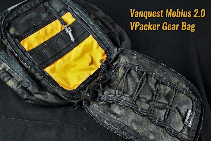 Innenfach: Vanquest Mobius 2.0 VPacker Gear Bag