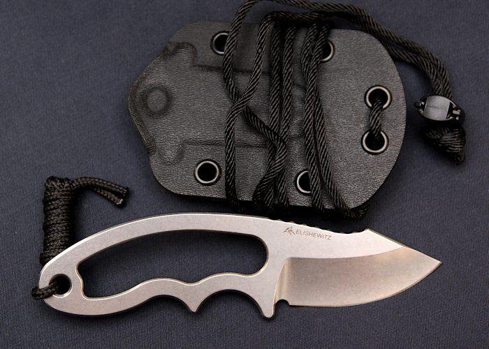 Vergleichstest 12 Neck Knives - Hogue EX-F03