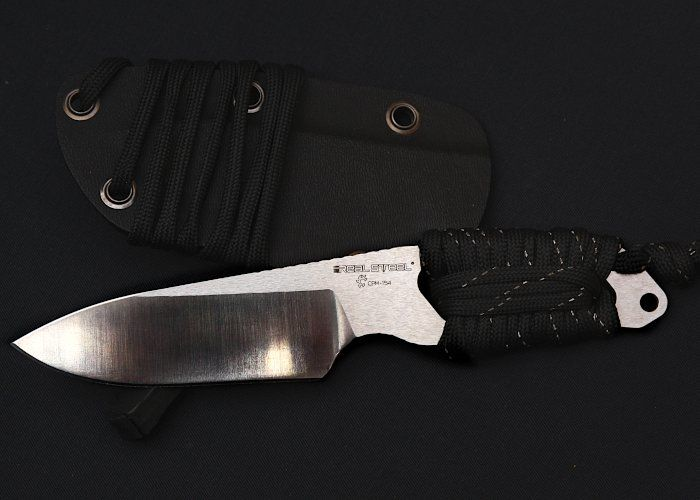 Vergleichstest 12 Neck Knives - Real Steel Cormorant