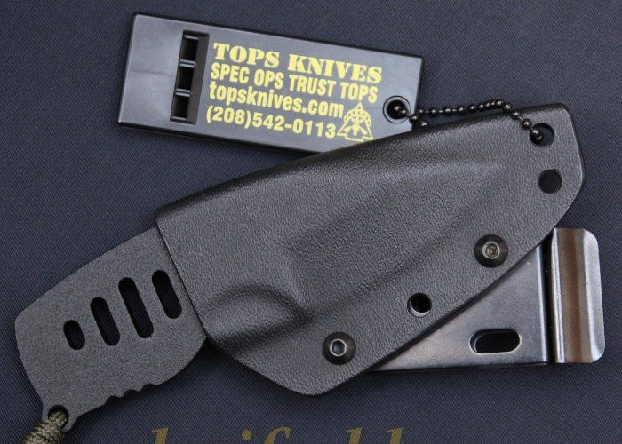 Vergleichstest 12 Neck Knives - Tops Bagdad Box Cutter