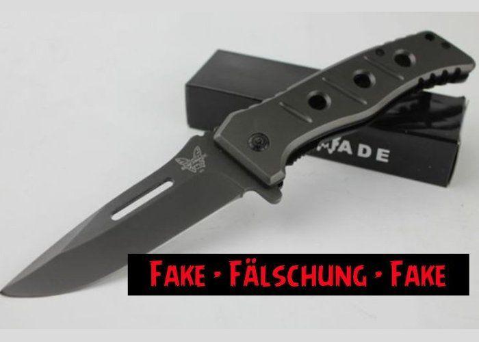 Fake Knives: Adamas Folder mit Klingenbohrung