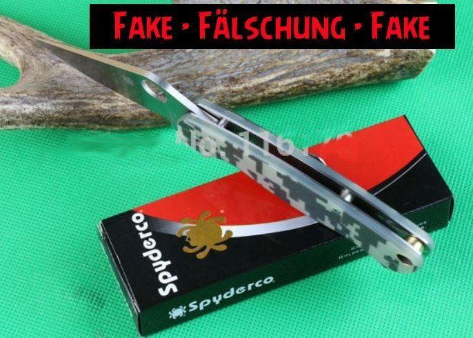 Fake Knives: Spyderco PM2 ohne Compression Lock