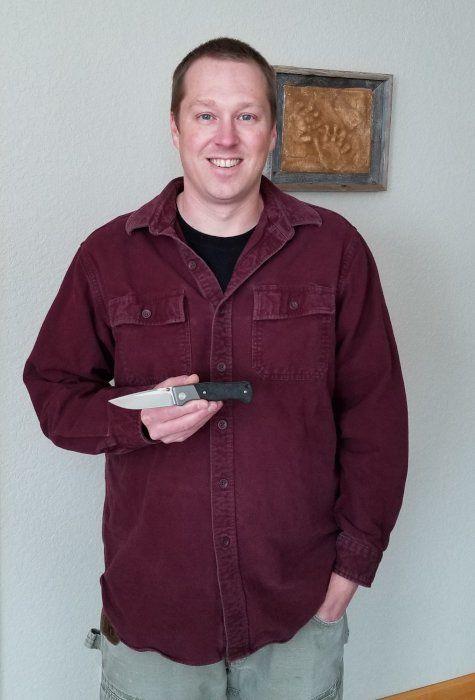 Todd Rexford mit Böker Collection Knife 2021