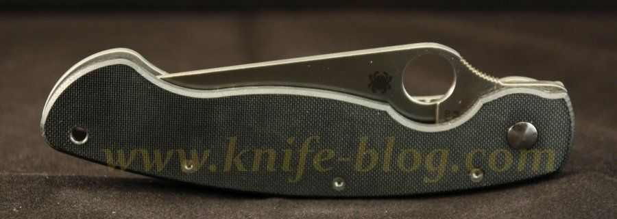 Spyderco Military C36GTIP, closed, front