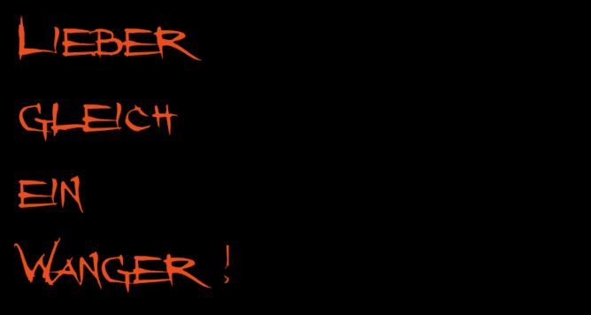 Messer & Co - Lieber gleich ein Wanger!