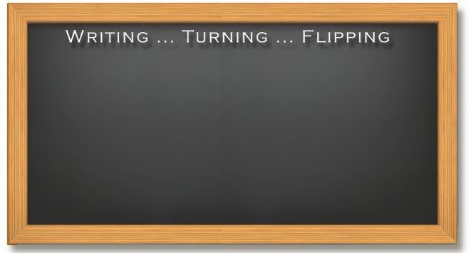 Writing Turning Flipping Shop