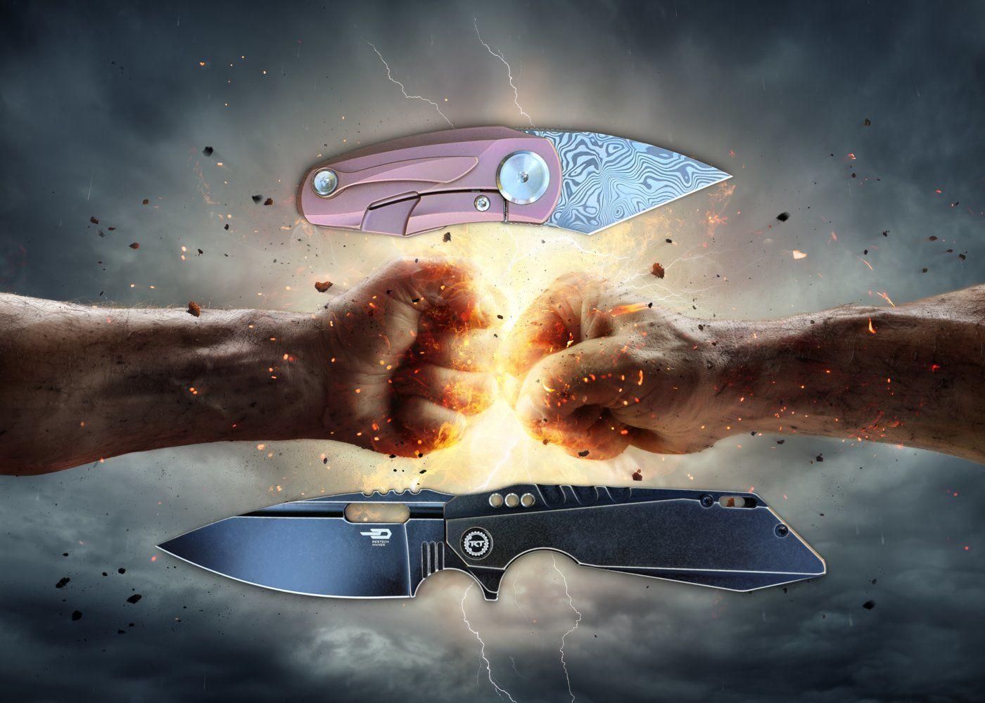 Bestech Knives Shodan und Bestech Knives Tulip