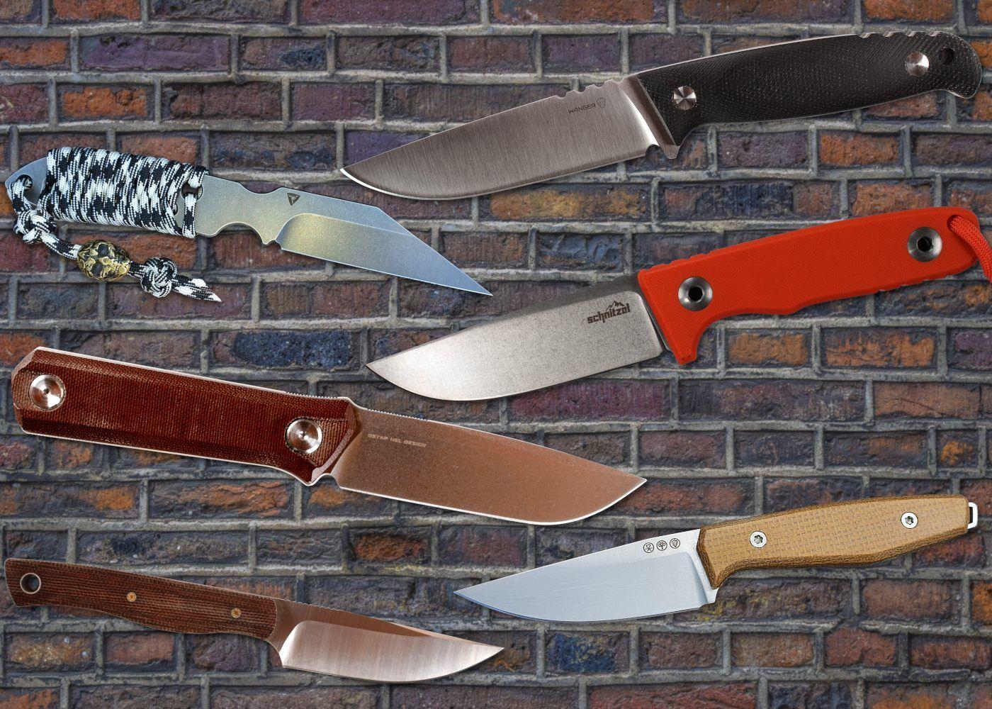 Vergleichstest 2021 - Fixed Blades bis 12 cm Klingenlänge