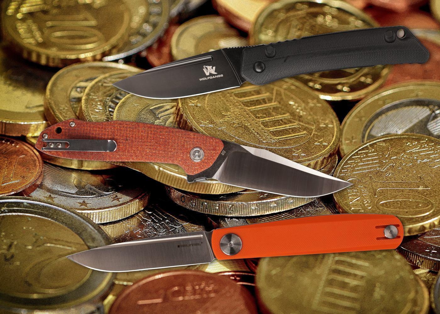 Preiswerte Messer - Budget Knives 2021