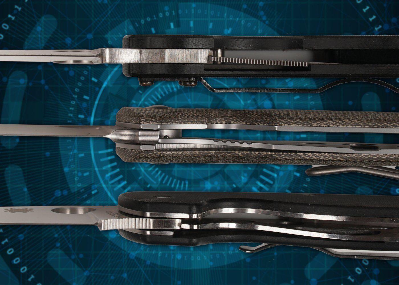 Linerlock - Klingenverriegelung für Taschenmesser