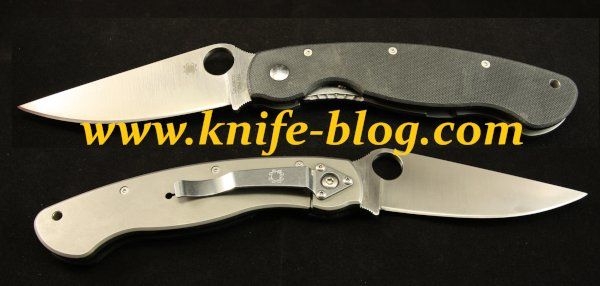 Spyderco Military C36Gtip Front and Back